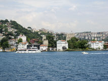 Bosphorus Istanbul Historical Building Stock Image
