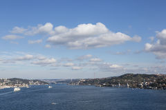 Bosphorus, Istanbul, Turkey Royalty Free Stock Photo