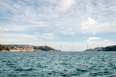 Bosphorus in Istanbul, Turkey Royalty Free Stock Image