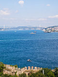Bosphorus Istanbul, Turkiet Royaltyfria Bilder