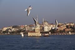 The Bosphorus, Istanbul stock photos