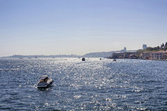 Bosphorus in Istanbul Stock Images