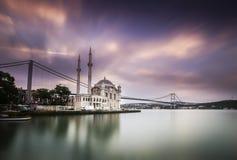 Bosphorus largo de la exposición Imágenes de archivo libres de regalías