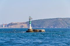 Bosphorus lighthouse Royalty Free Stock Image