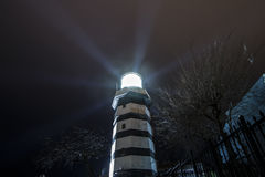 Bosphorus, Lighthouse at istanbul royalty free stock images