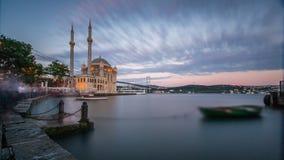 Bosphorus longo de Ortakoy da exposição Fotos de Stock Royalty Free