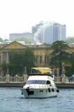 Bosphorus pałac jacht, Istanbuł Zdjęcie Royalty Free