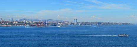 Bosphorus panorama Zdjęcia Stock