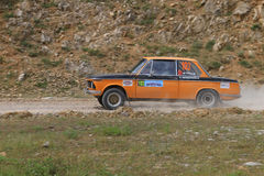 Bosphorus Rally 2011 ERC Royalty Free Stock Photos