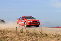Bosphorus Rally 2011 ERC Royalty Free Stock Photography