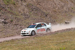 Bosphorus Rally 2011 ERC Stock Photography