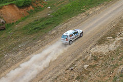 Bosphorus Rally 2011 ERC Royalty Free Stock Images