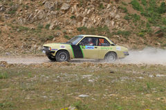 Bosphorus Rally 2011 ERC Stock Photos
