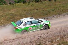 Bosphorus Rally 2011 ERC Stock Photos