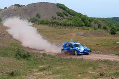 Bosphorus Rally 2011 ERC Royalty Free Stock Photo