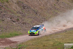 Bosphorus Rally 2011 ERC Stock Photography