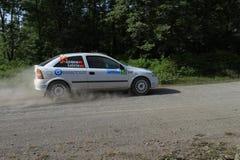 Bosphorus Rally 2011 ERC Stock Images