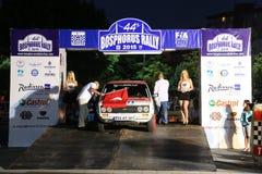 Bosphorus Rally 2015 Stock Photo