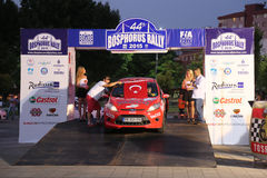 Bosphorus Rally 2015 Stock Photography