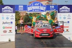 Bosphorus Rally 2015 Royalty Free Stock Photos