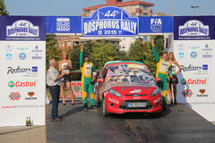 Bosphorus Rally 2015 Royalty Free Stock Images