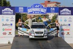 Bosphorus Rally 2015 Royalty Free Stock Photo