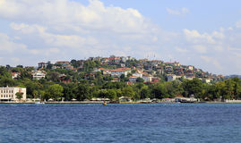 Bosphorus residential houses,Istanbul,Turkey. Stock Photo