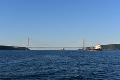 Bosphorus stockbild