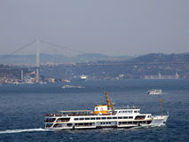 Bosphorus ships Stock Images