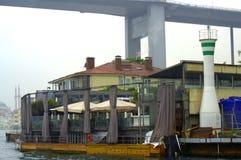 Bosphorus  shore restaurant Stock Photo