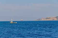 Bosphorus small lighthouse Royalty Free Stock Image