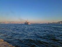 Bosphorus statek wycieczkowy Karakoy Istanbuł zdjęcia royalty free