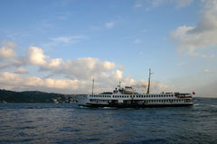 Bosphorus Steamer. Bosphorus Istanbul Turkey royalty free stock photography
