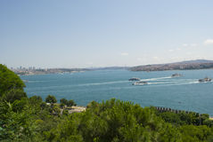 Bosphorus Straight Royalty Free Stock Photo