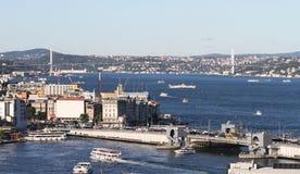 Bosphorus Strait in Istanbul City Royalty Free Stock Photos