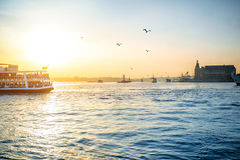 Bosphorus strait in Istanbul Stock Images