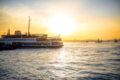 Bosphorus strait in Istanbul Royalty Free Stock Photo