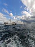 Bosphorus strait in Istanbul stock image