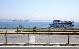 Bosphorus Strait in Istanbul Royalty Free Stock Image