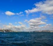 Bosphorus Strait of Istanbul, Turkey stock photos