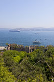Bosphorus Strait in Istanbul, Turkey Stock Photos