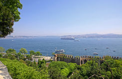 Bosphorus Strait in Istanbul, Turkey Stock Photography