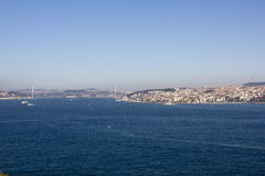 The Bosphorus strait, Turkey stock image