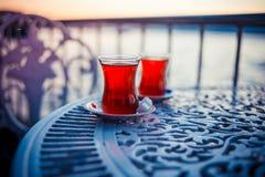 Bosphorus tea Royalty Free Stock Photo