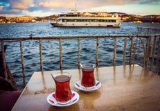 Bosphorus tea Stock Photo