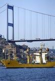 Bosphorus traffic Stock Images