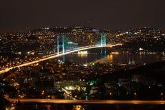 Bosphorusbrug Royalty-vrije Stock Foto