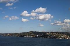 Bosphorusbrug, Istanboel Bosphorus royalty-vrije stock foto