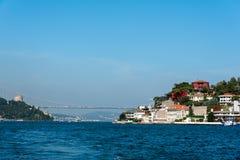 Bosphorusen i Istanbul arkivbild