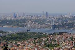 Bosporus-Brücke von Istanbul Lizenzfreies Stockbild